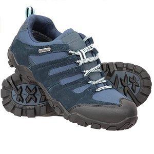 NWT! Mountain Warehouse Belfour Hiking Shoes Navy